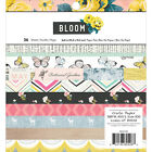 American Crafts Crate Paper Bloom Collection 6X6 Paper Pad