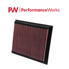 K&N Air Filter 96-04 MERCEDES BENZ SLK230 / SLK200 KOMPRESSOR #33-2767