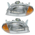 95 96 97 Metro Headlight Headlamp Front Head Light Lamp Left Right Side SET PAIR