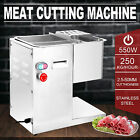 250Kg/Hour Stainless Steel Meat Cutting Machine Commercial Slicing Kitchen