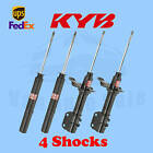 KYB Set 4 Front Rear Struts GR 2 EXCEL G Twin Tube for GEO Metro 1989 95