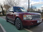 2003 LAND ROVER RANGE ROVER SE TD6 AUTO RED