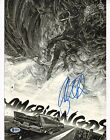 Ricky Whittle Signed 11x14 Photo BAS Beckett COA American Gods Picture Autograph