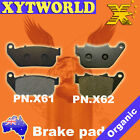 FRONT+REAR Brake Pads HARLEY DAVIDSON XL 50 50th Anniversary Sportster 2007