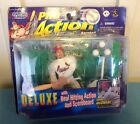 PRO ACTION STARTING LINEUP - MARK MCGWIRE DELUXE REAL HITTING ACTION FIGURE