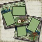 THE GREAT OUTDOORS 2 Premade Scrapbook Pages EZ Layout 2083