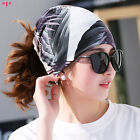 Casual Womens Spring Summer Beanie Hats Vintage Ladies Flower Print Sports Caps
