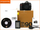 Nikon D90 Digital 13MP SLR Camera BodyBattery Charger Free UK Post