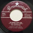 NORTHERN SOUL The Artistics IM GONNA MISS YOU Brunswick 45 rare Canadian press