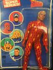 MEGO LA TORCHE HUMAINE THE HUMAN TORCH 1979 8 Inch On Card Fantastic Four
