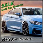 20 ROHANA RFX5 20x9 20x11 FORGED BLACK CONCAVE WHEELS For BMW E60 M5