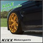 20 ROHANA RFX5 20x10 GOLD FORGED CONCAVE WHEELS For AUDI A7 S7