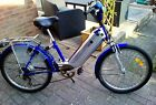 electric bike fitted with new lithium battery
