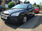 2006 Ford Focus Ghia 18 TDCi Top of Range Spec Diesel 12 Months MOT Manual