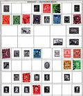 120+ German Postage Stamps Pre WWII and Post WWII