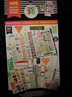 Happy Planner PRODUCTIVITY STICKER BOOK 30pgs 985pc General Reminders