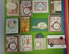 Lot of 12 assorted cards made Stampin Up supplies Birthday Thinking of You+