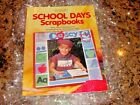 Memory Makers NEW School Days Scrapbooks INSTRUCTION BOOK IDEAS