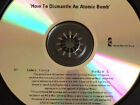 U2: How To Dismantle An Atomic Bomb Radio 1 Promo Advance CD #0097 Personalized
