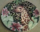 FITZ & FLOYD  Exotic Jungle GIRAFFE Luncheon/Collector/Salad Plate