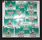 GIRL SCOUTS Try its Triangle Patch Badges Brownies Iron On Lot 13 Patches
