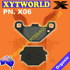 REAR Brake Pads MZ MUZ Baghira Forest Forest HR 1996-2001 2002 2003 2004 2005