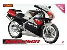 Aoshima Motorcycle No. 103 050071 1/12 Honda '89 NSR 250 R model kit from Japan