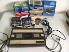 Mattel Intellivision Model 2609 Console with 21 Games and Intellivoice Add On