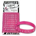 Its a Girl Birth Announcement Bracelets 10 Pack