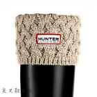 knit Cuff Hunter Welly Long Socks For Tall Rain Boots Liners Cross Polar Fleece