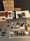 Pre owned Rubber Stamp Destash 46 Pieces Wood Clear Foam Mounted Mixed Lot