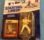 STARTING LINEUP - WADE BOGGS ACTION FIGURE & CARD