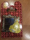 Disney Pin on Card Beauty and the Beast Belle Framed Lenticular Portrait