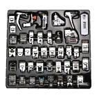 42 PCS Domestic Sewing Machine Foot Feet Snap On For Brother Singer Set #3YE