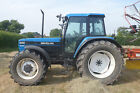 Ford Newholland 8340 tractor 45 kph GENUINE TRACTOR 140 hp late one p reg GWO