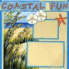 COASTAL FUN 2 Premade Scrapbook Pages EZ Layout 2114