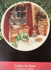 Cookies for Santa 1990 Hallmark Ornament 4th in collector plate series