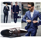 Mens New Dress Formal Oxfords Leather shoes Business Dress Fashion Casual Shoes
