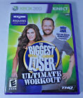 Biggest Loser Ultimate Workout Microsoft Xbox 360 2010 GAME COMPLETE