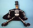 RARE MONSTER SKELETON RAGDOLL WITH RUBBER HEAD PLAY BY PLAY 33 CM 13 IN
