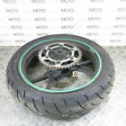 KAWASAKI ZX2R ZXR 250 95 rear wheel rim with 60% tyre sprocket & disc rotor