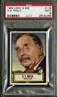 1952 TOPPS LOOK 'N SEE #119 H. G. WELLS PSA 9 BACK IN TIME MACHINE CENTERED