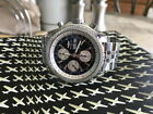 Breitling Bentley GT 44mm with black dial and silver sub-dials A1336