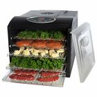 Electric Digital Commercial Food Dehydrator Dryer Blower Vegetable Fruit Jerky