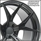 20 ROHANA RFX5 20x9 10 BLACK FORGED CONCAVE WHEELS BMW RIMS F10 528i 535i 550i