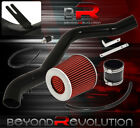 1990-1993 Acura Integra Cold Air Induction Intake System Red Filter Set Black