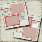 ROSE 2 Premade Scrapbook Pages EZ Layout 277