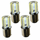 4-Pack HQRP 110V 3W BA15d Base LED Light Bulb for Singer Series Sewing Machines