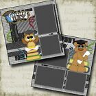 GRADUATION DAY 2 Premade Scrapbook Pages EZ Layout 2132