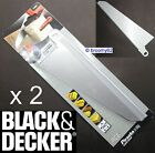 X29961 x 2 Black & Decker Scorpion Saw Blade Wood And Plastic KS880 KS890E/ECN